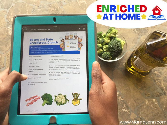 Enriched at Home Recipe