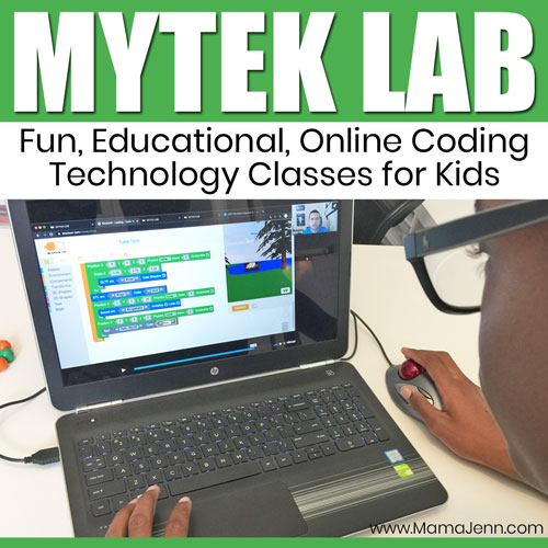 MYTEK LAB Online Coding Classes for Kids