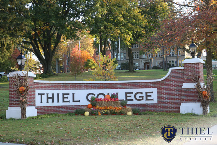 Thiel College in the Fall