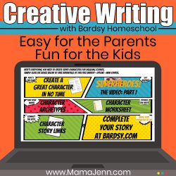 Bardsy Homeschool Creative Writing Curriculum