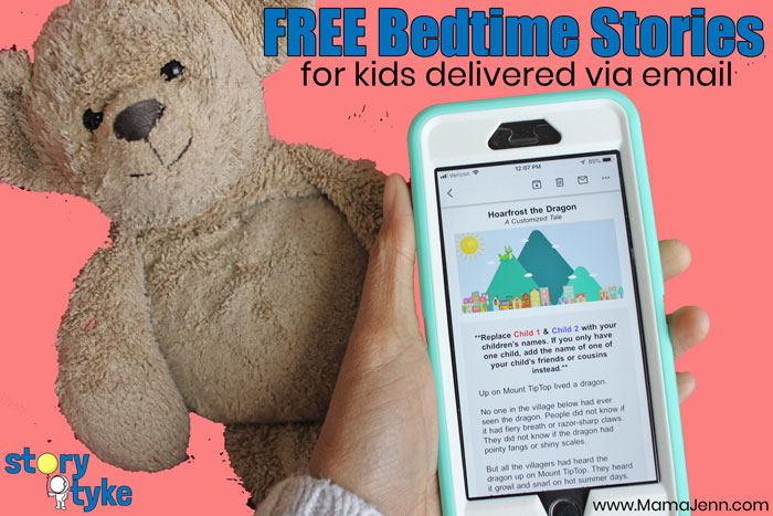 FREE Bedtime Stories for Kids Story TykeKids