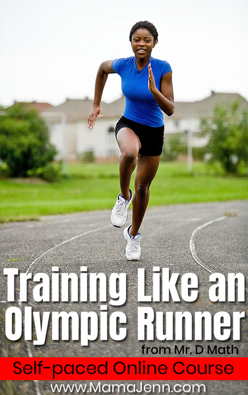 Training Like Olympic Runner Self-paced Online Course