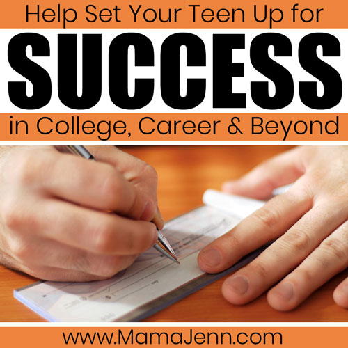 Setting your Teen up for Success in Life