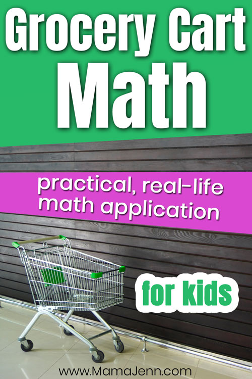 Grocery Cart Math for Kids