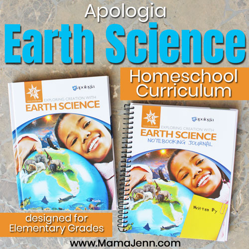Apologia Homeschool Earth Science [Curriculum Review]