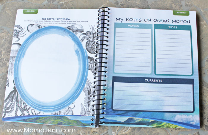Apologia Earth Science journal notebooking