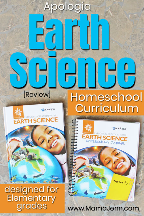 Apologia Exploring Creation with Earth Science Homeschool Curriculum Review