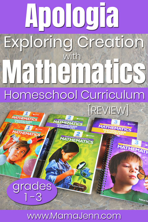 Apologia Exploring Creation with Mathematics Homeschool Curriculum Review
