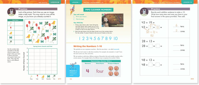 Apologia Exploring Creation with Mathematics Sample Pages