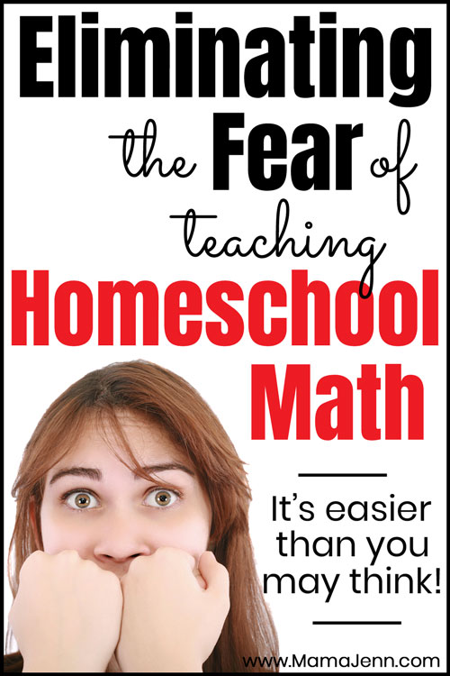 Eliminating the Fear of Teaching Homeschool Math CTCMath Review