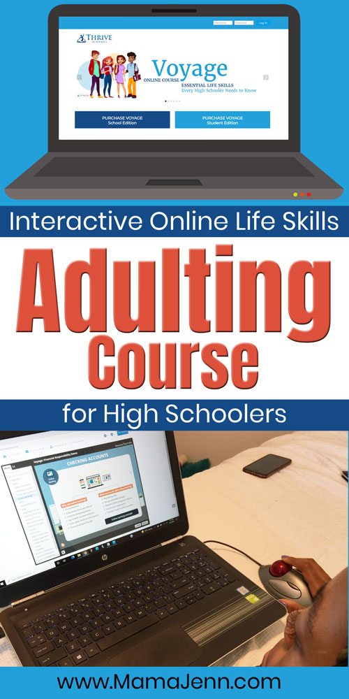 Voyage High School Life Skills Adulting Course