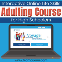Voyage Life Skills Adulting Course