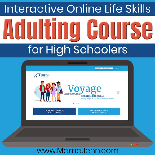 Adulting [Life Skills] Course for High Schoolers