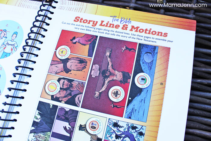 The Word in Motion Story Line Book